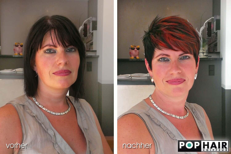 Vorher - Nachher: Mut zu kurzem Haar
