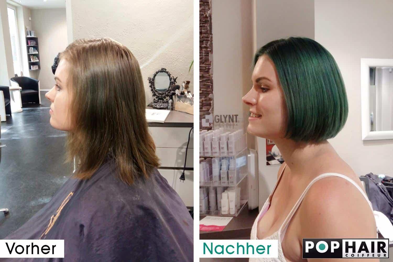 Lange Haare Kurz Schneiden Vorher Nachher Helle Haarfarbe 2019
