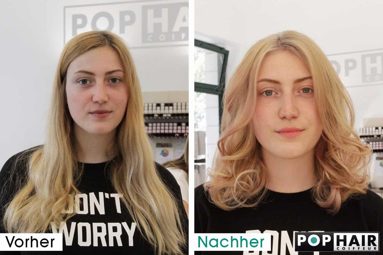 Haarverlã¤Ngerung Frisuren | Wohnzimmerz Nachher With Haarverla Ngerung Vorher Nachher