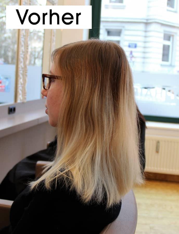 Carolins-Haar-vorher