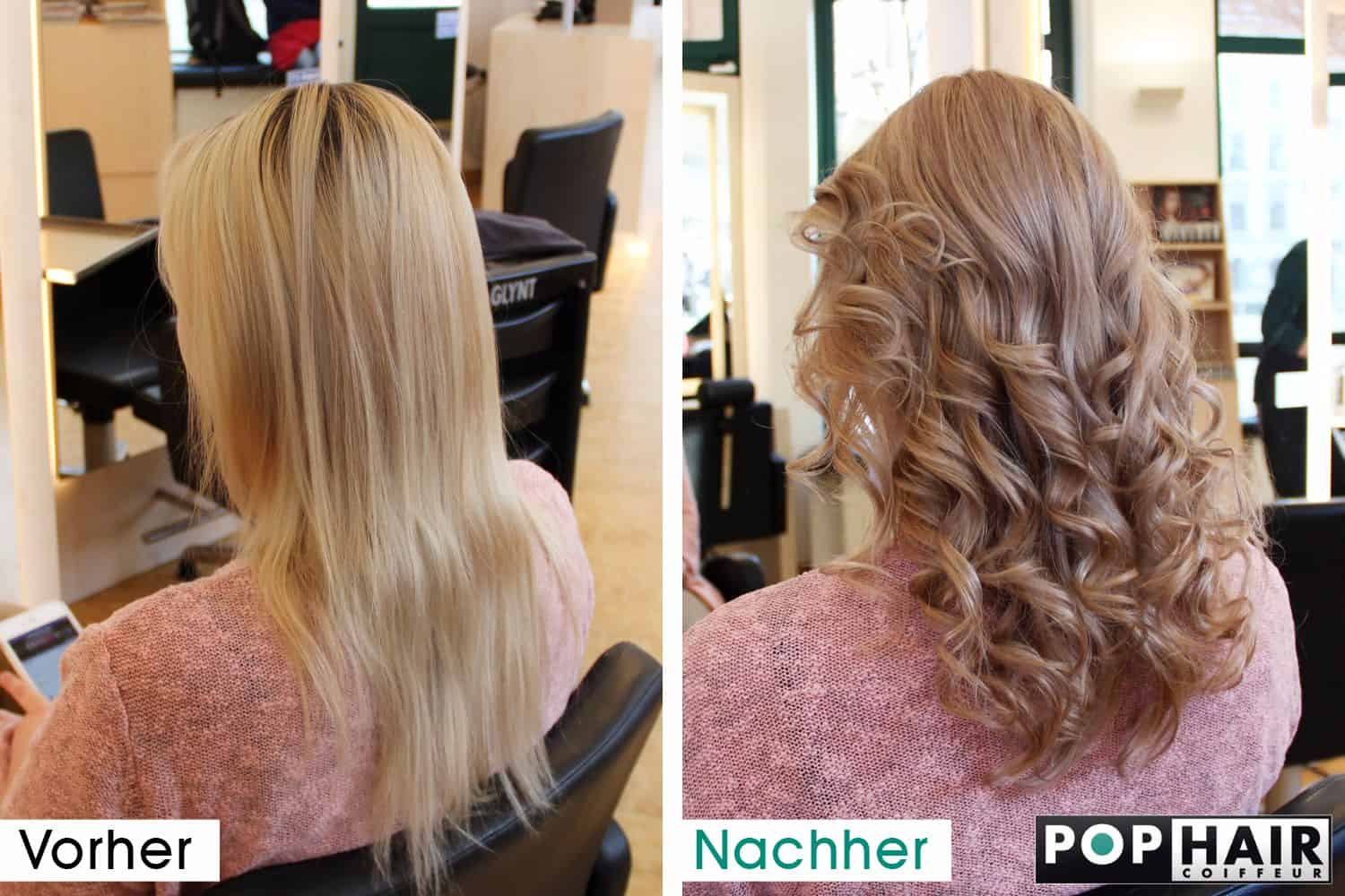 balayage mit apricot und ros blond pophair. Black Bedroom Furniture Sets. Home Design Ideas