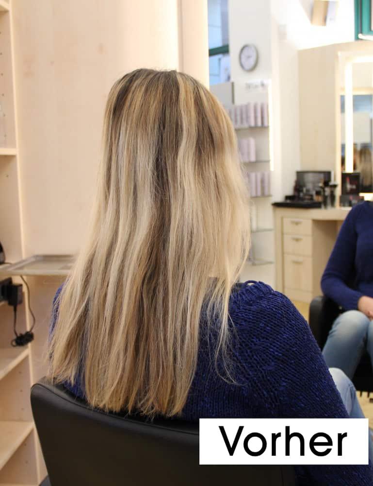 Janines-Haar-vorher
