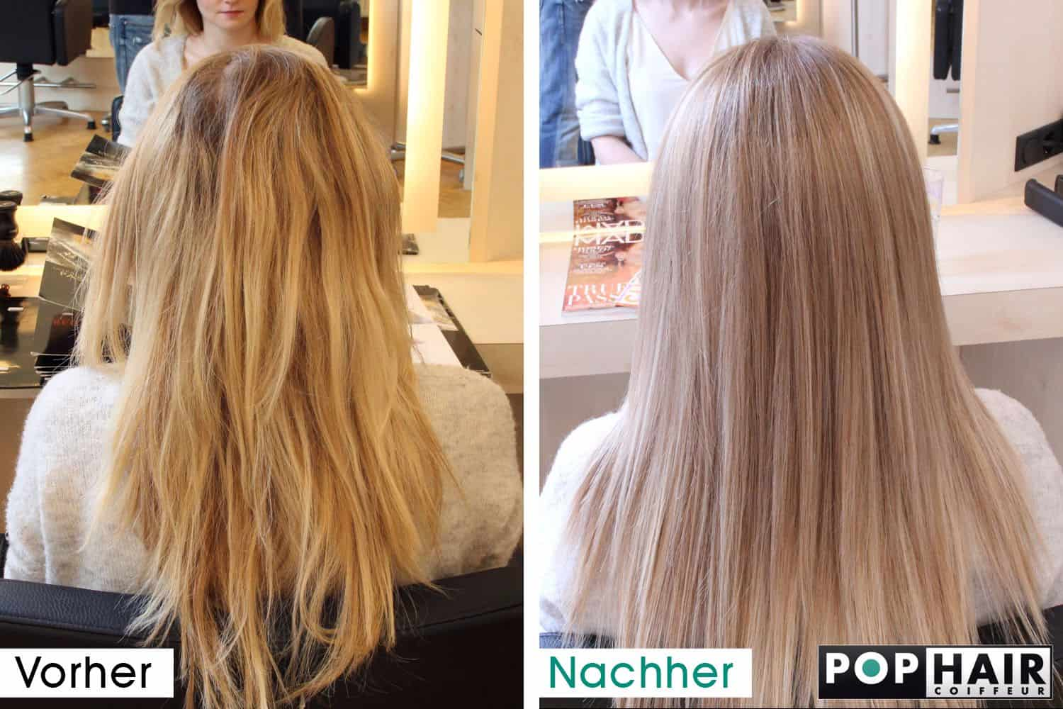 balayage korrektur mit blondem pastell pophair. Black Bedroom Furniture Sets. Home Design Ideas