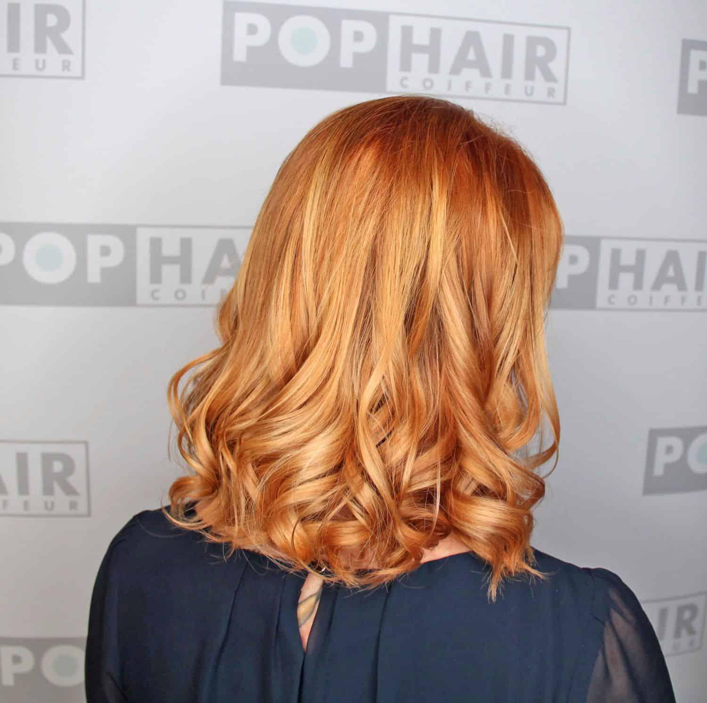Irisches Blond Als Balayage Pophair