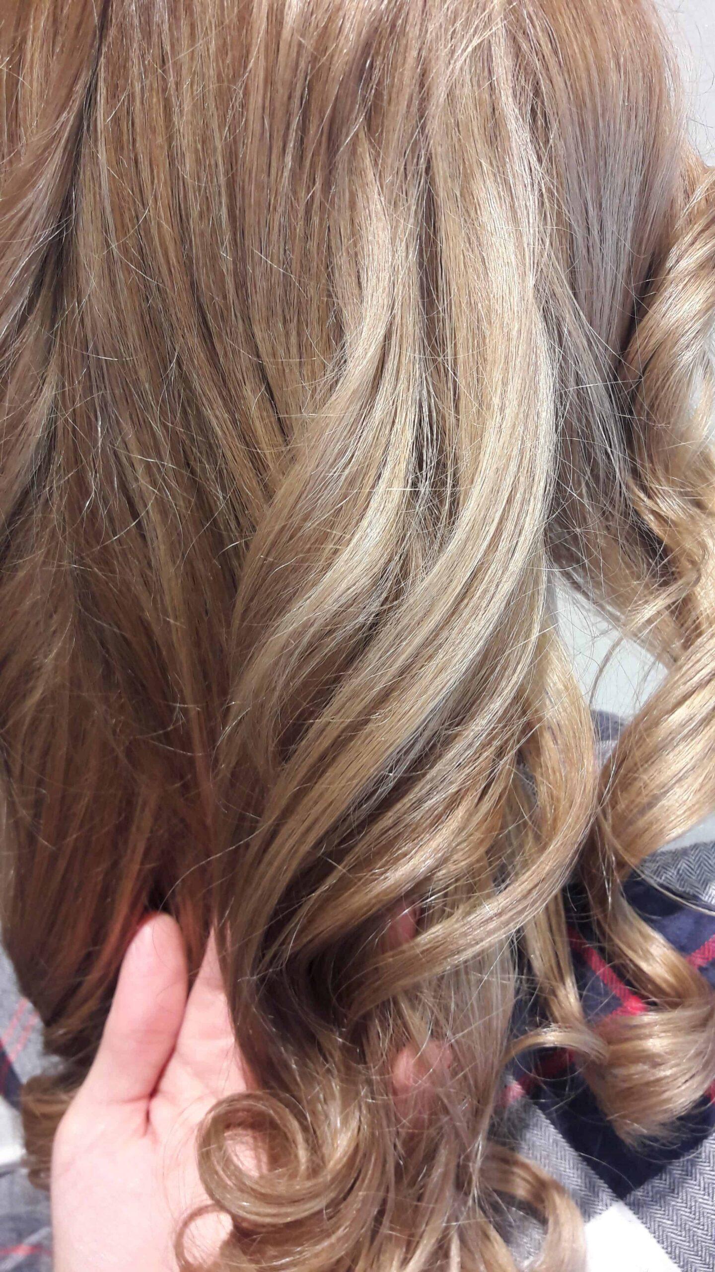 Balayage Blonde Haare Mit Graustich - Images | Slike