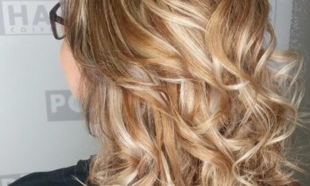 Kontrastreiches Balayage dank Color-Off