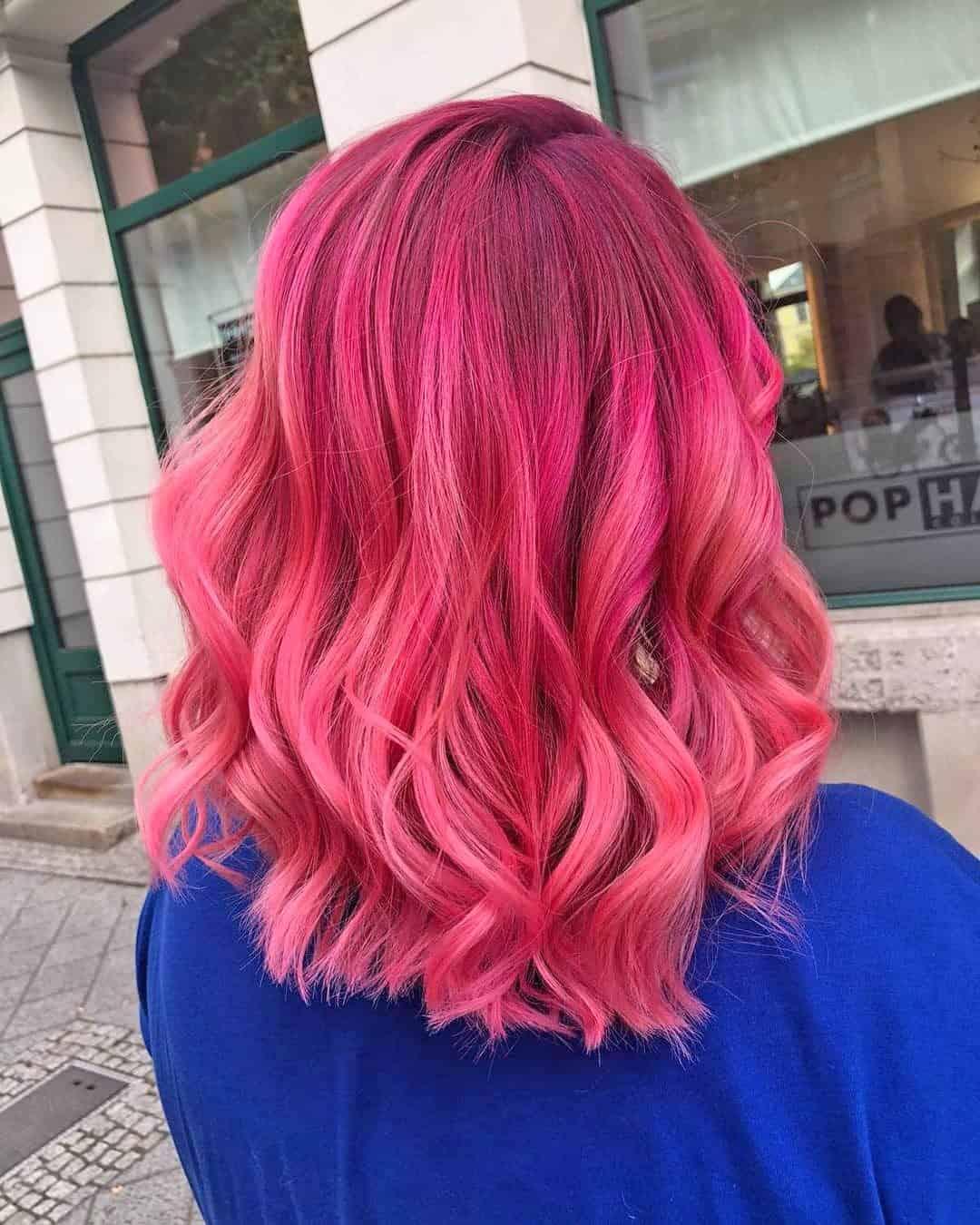 Новый цвет волос Джози