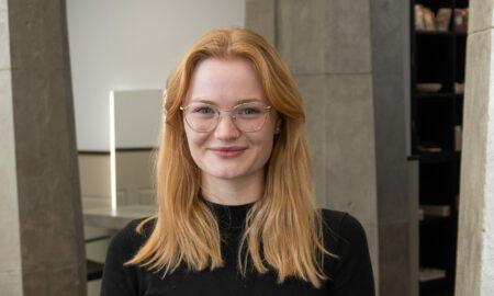 Friseurin Lucie Gnauk aus Leipzig