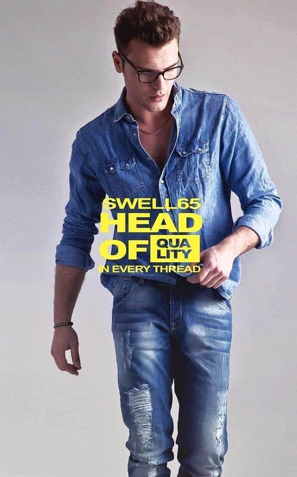 Model-mit-einer-Frisur-von-Leonardo-Nuzzolese-für-eine-Shooting-der-Jeansmarke-Swell-65-1