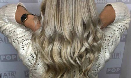 LarinaBeauty wünschte sich Ice-Blonde als Balayage