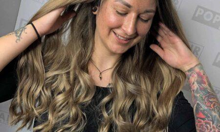Großprojekt Pia: Strähnen und Blondierung mit Olaplex