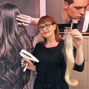 मैगडेबर्ग में बालों का विस्तार