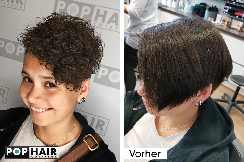 Stufenschnitt Kurze Haare Kurzes Haar In 2019 Wallpaperzen Org