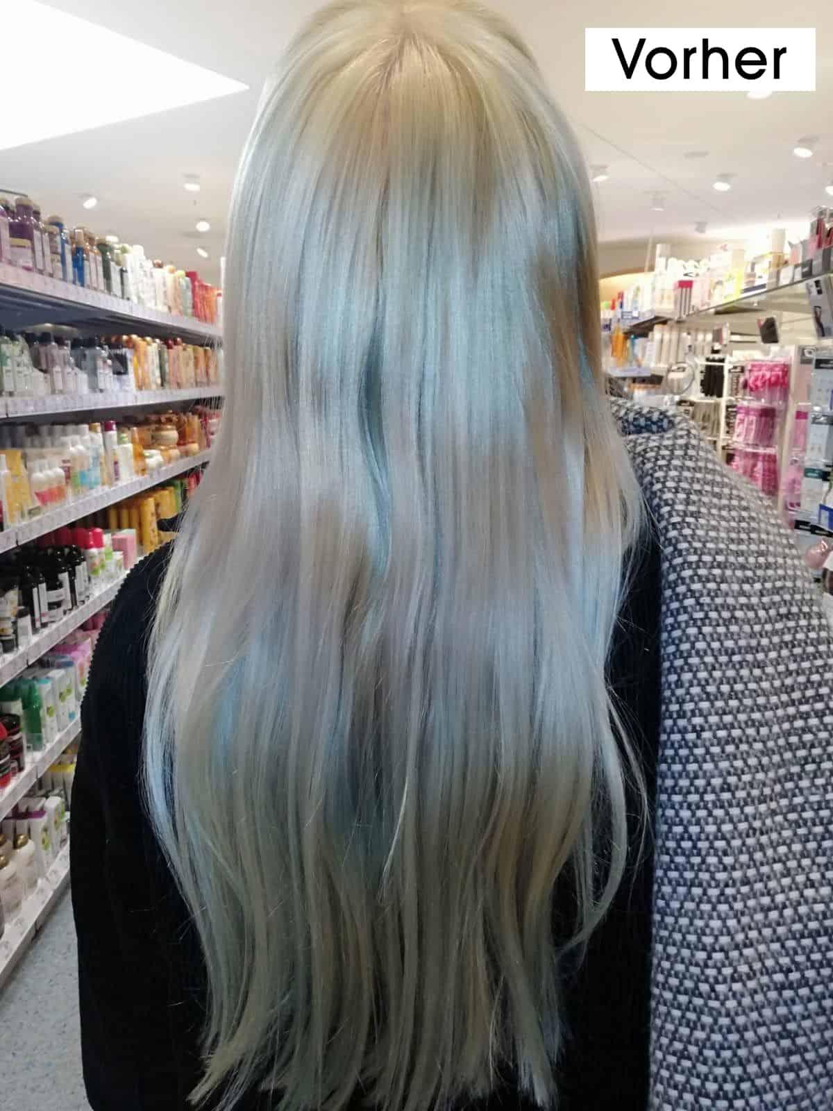 Grünstich im Haar
