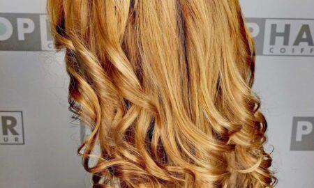 Franziskas neue Haarfarbe