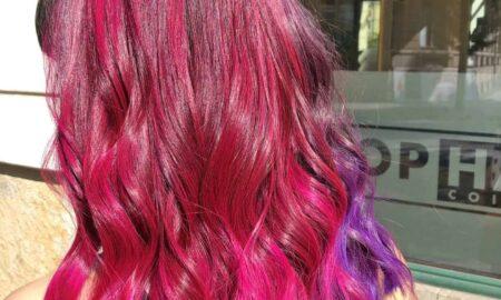 Crazy Colors Haarfarbe in Pink und Violett