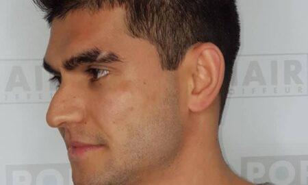 Azubi Jamil: Erster Herrenhaarschnitt mit Strähnen