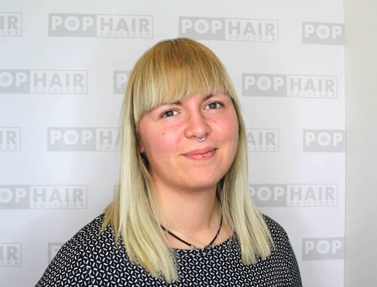 Friseurin Jessica Dressel bei POPHAIR