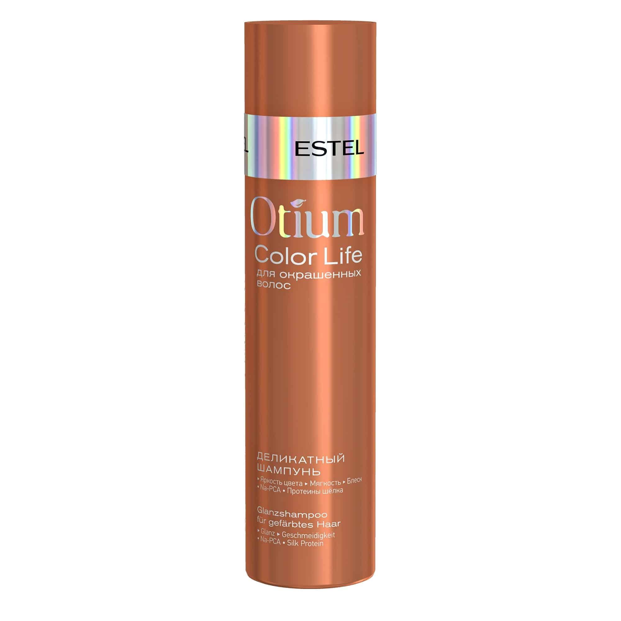 OTIUM COLOR LIFE Glanz-Shampoo für gefärbtes Haar von ESTEL