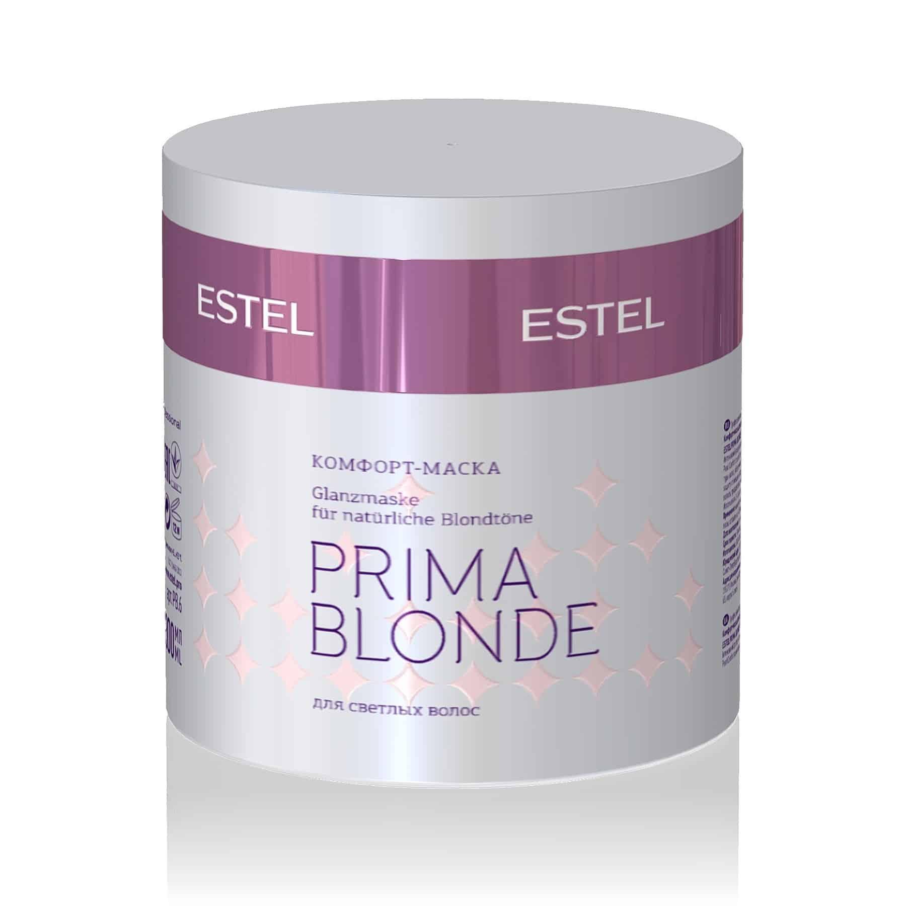 PRIMA BLONDE Glanzmaske für natürliche Blondtöne
