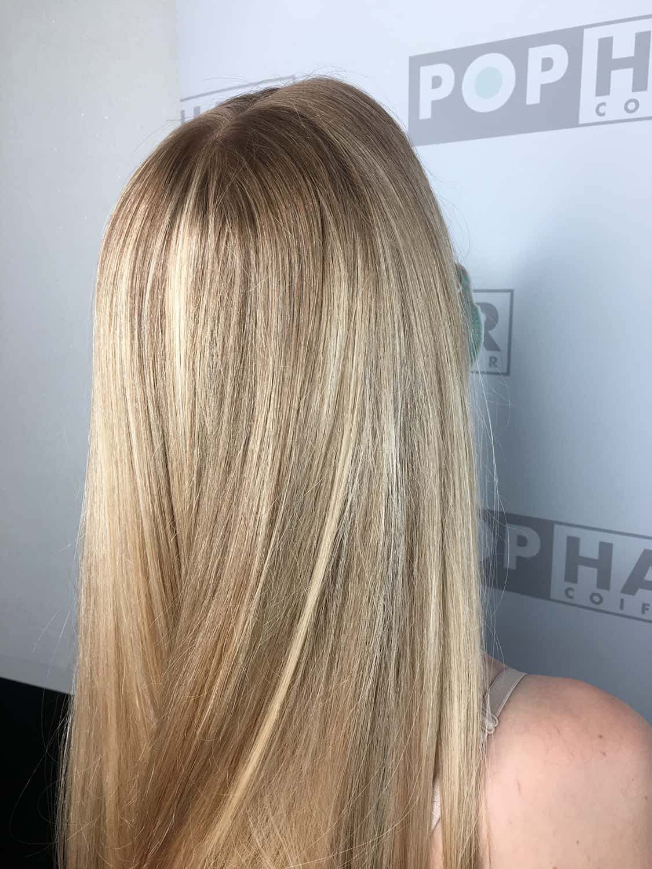Balayage-Ansatz-in-Blond