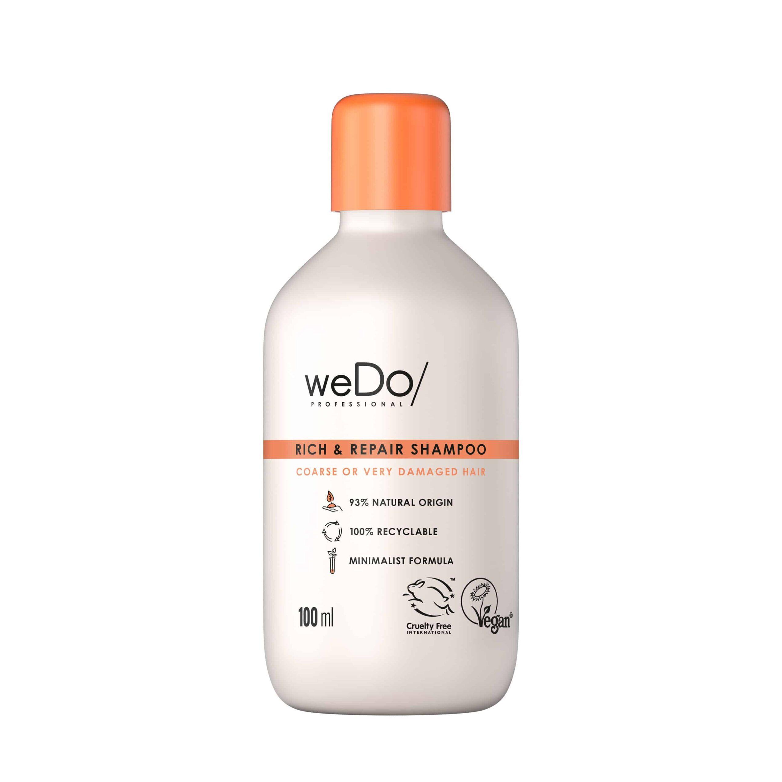 Rich & Repair Shampoo gegen Haarbruch von weDo/