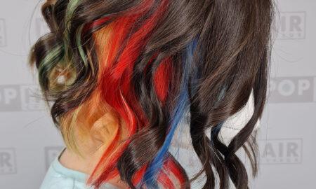 Damenhaarschnitt-mit-Bob-in-Regenbogenfarben-450x270